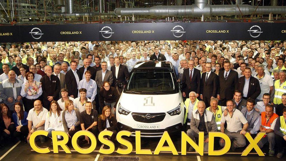 Opel ya fabrica en España el Crossland X