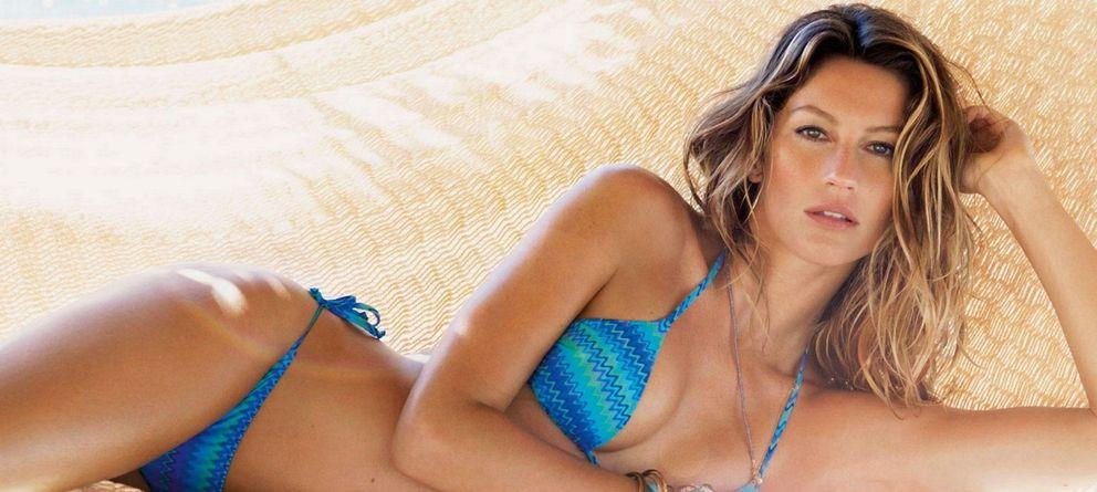 Foto: La modelo brasileña Gisele Bündchen