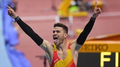 Óscar Husillos, descalificado después de haber sido campeón del mundo de 400