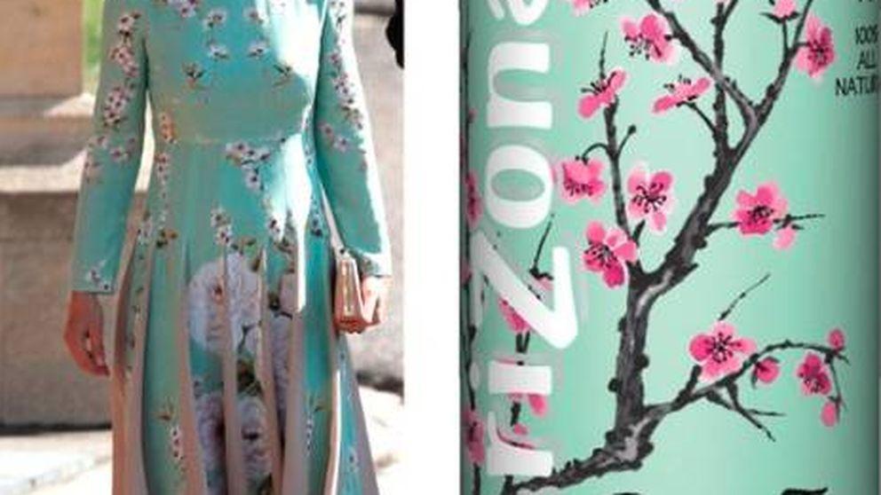 El parecido de Pippa Middleton con una lata de té verde se hace viral