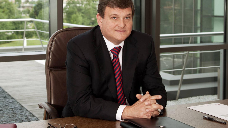 El presidente ejecutivo de Duro Felguera, Ángel del Valle.