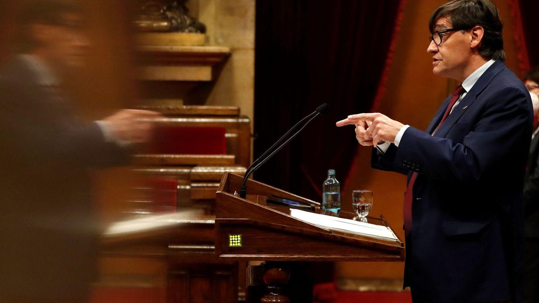 Salvador Illa reivindica España y advierte a Aragonès: No le daremos 100 días