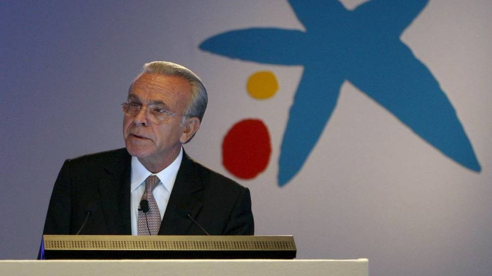 Foto: Isidro Fainé, presidente de la Fundación laCaixa