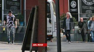 La foto del 'delito' de Axl Rose y AC/DC