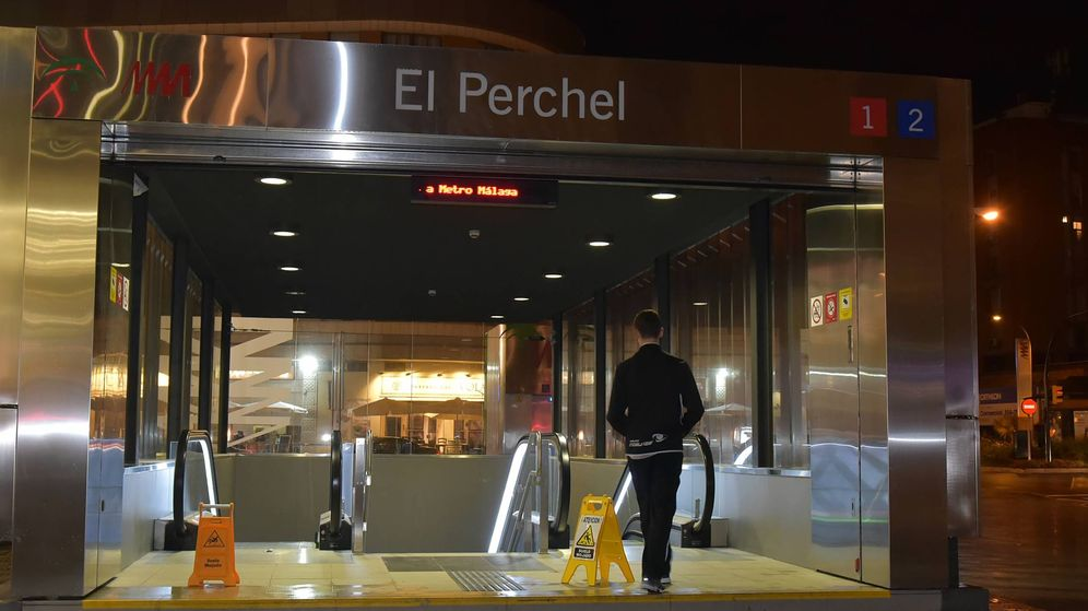 Foto: Acceso al metro de Málaga. (Toñi Guerrero)