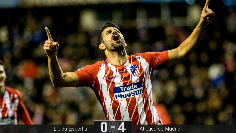 Foto: Costa entró y a los cinco minutos marcó. (Cordon Press)
