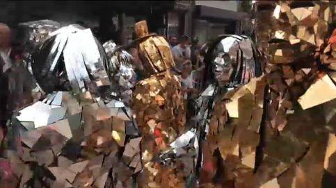 Un festival de estatuas humanas en Bélgica