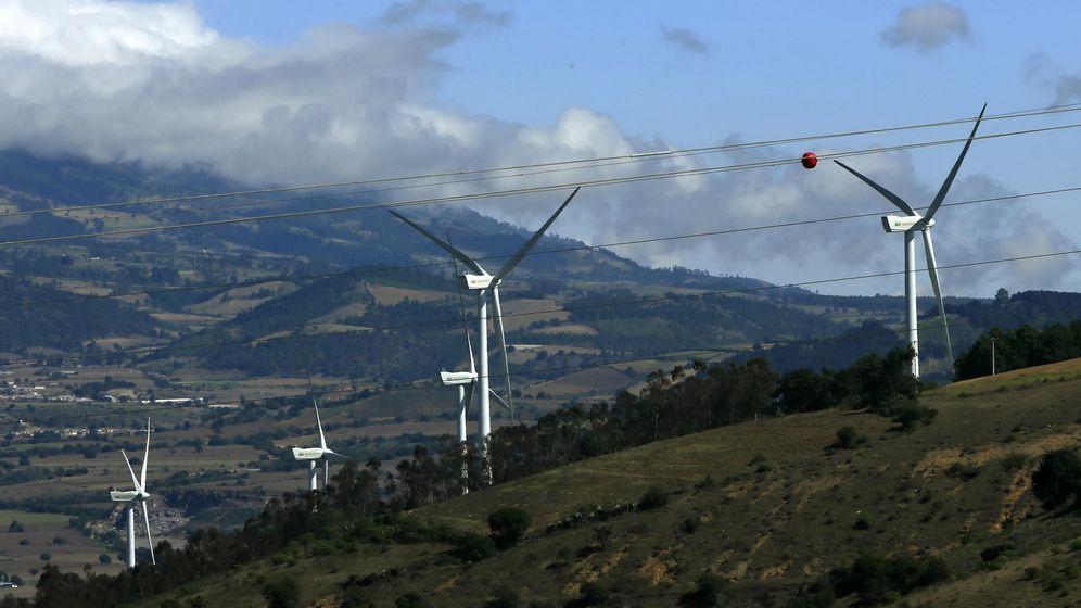 Foto:  Parque eólico de Iberdrola en México