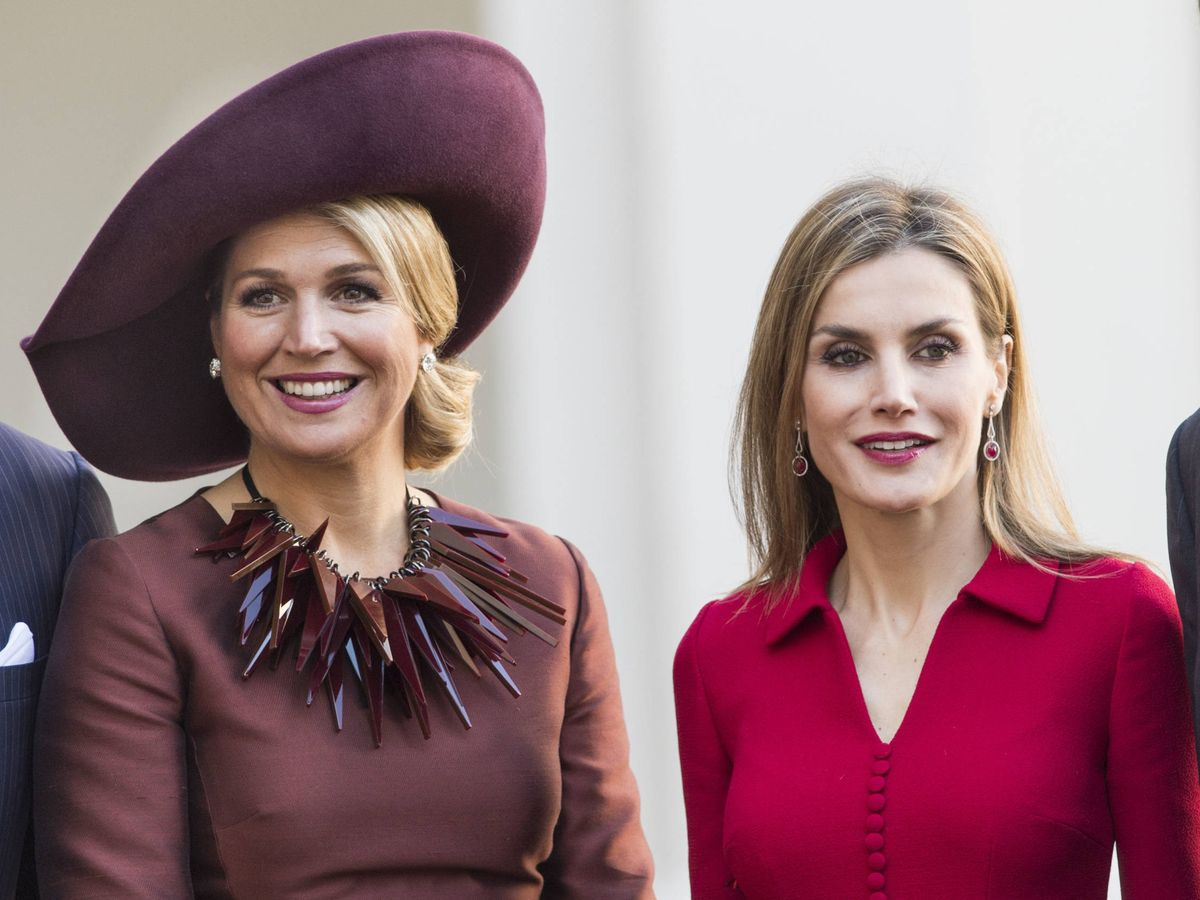 Foto: Letizia y Máxima, en 2014. (Getty)