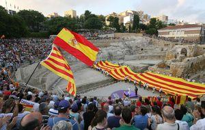 La sociedad civil catalana sale de la clandestinidad