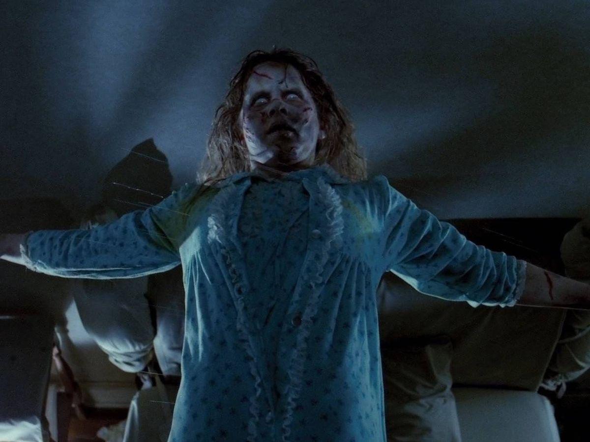Foto: Linda Blair como Regan en 'El exorcista' (1973)