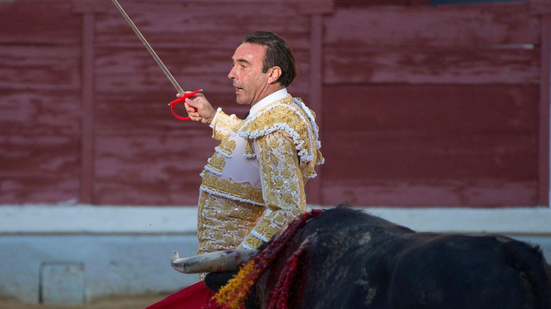 Ponce en la plaza de toros de Jaén, el pasado octubre.(EFE)