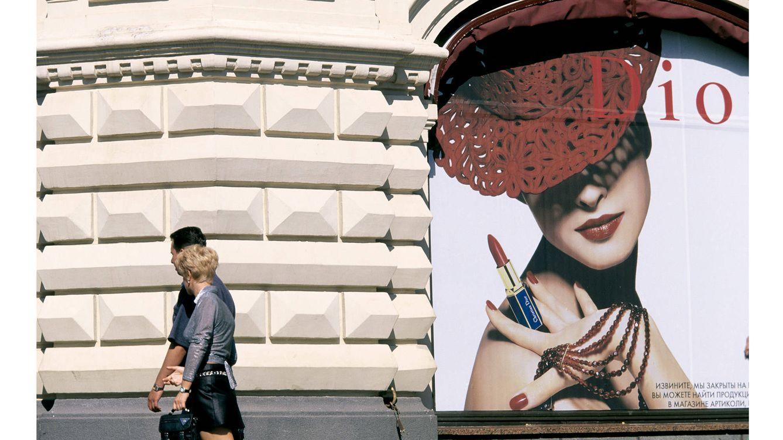 Foto: Cercanías de un centro comercial de Moscú, una ciudad en la que la demanda de productos de lujo crece exponencialmente cada año.