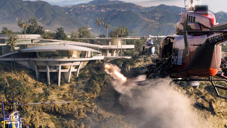 La casa en una escena de 'Iron Man 3'. (Marvel)