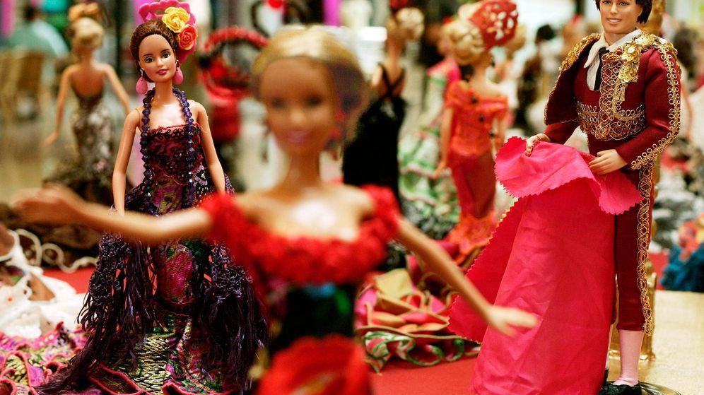 Foto: Una de las exposiciones de Barbie organizadas por su 60 cumpleaños. (Reuters)