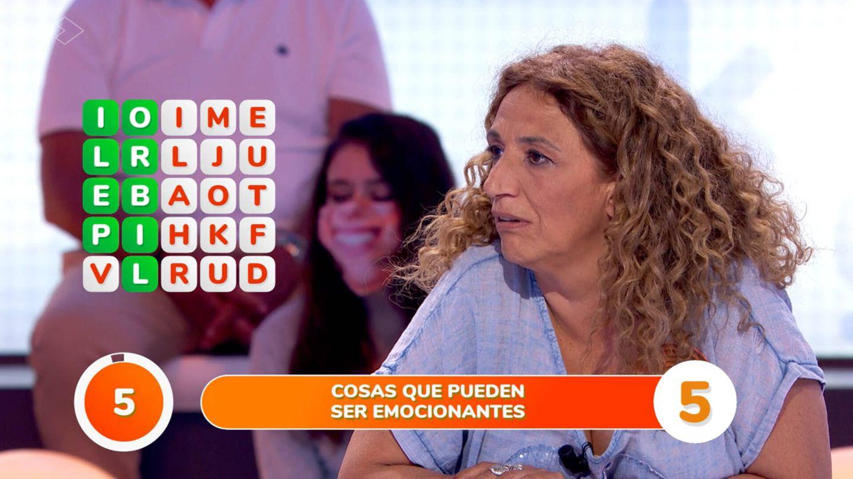 Sofía Álvarez en 'Pasapalabra'. (Atresmedia)