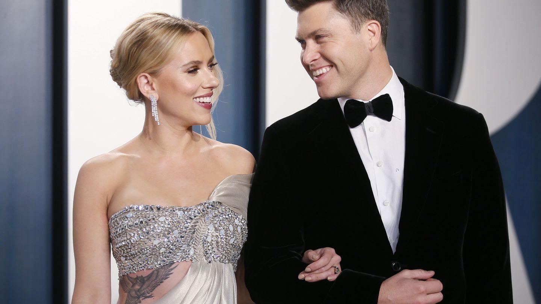 La pareja, este mismo año en la fiesta post-Oscar de Vanity Fair. (Reuters)
