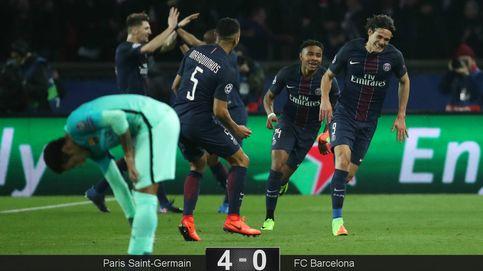 El PSG de Emery le da un baño al Barça y le deja (casi) fuera de la Champions