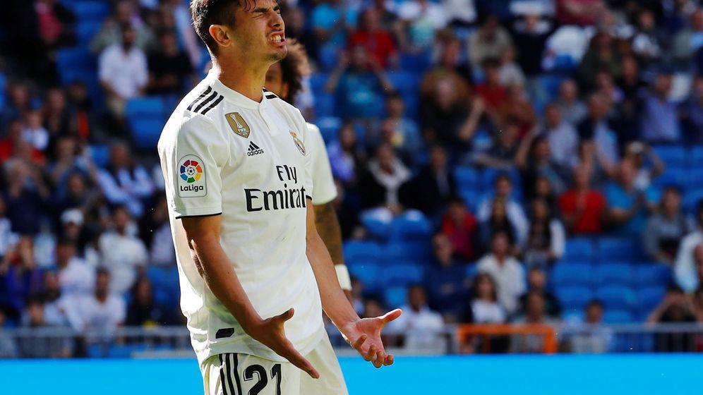 Foto: Brahim Díaz solo ha jugado cuatro partidos con el Real Madrid esta temporada. (Reuters)