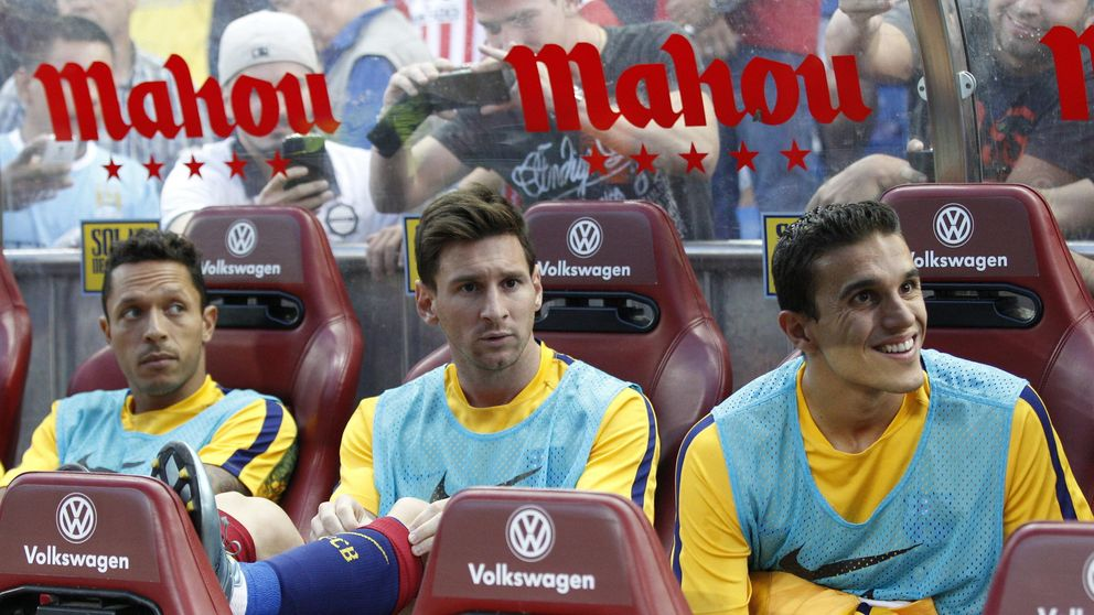 De Anoeta al Vicente Calderón: Luis Enrique y Messi ya se hablan