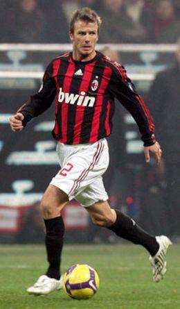 Foto: El Milan confirma la llegada de Beckham en el mercado de invierno