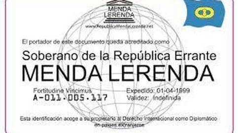 Asegura ser diplomático de la República de Menda Lerenda para no ser detenido