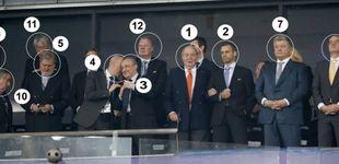 Post de El palco de Kiev: el rey emérito Juan Carlos y la extraña presencia de Villar