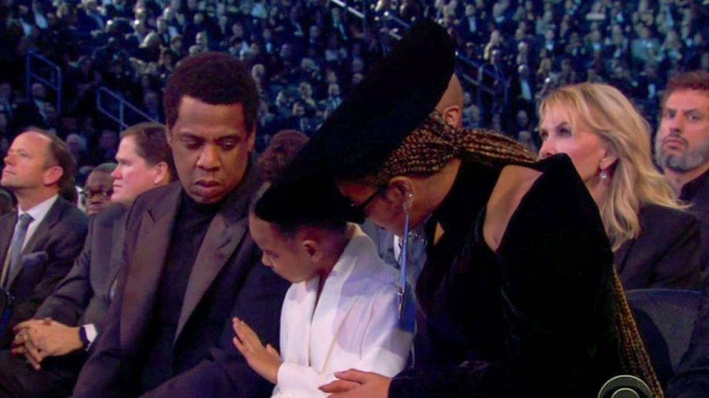 Blue Ivy y el divertido vídeo en el que calla a sus padres en los Grammy