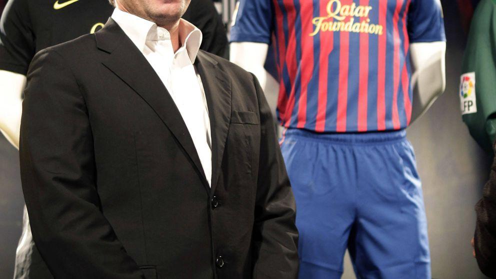 Rosell se benefició de la venta de la publicidad de las camisetas del Barça a Qatar