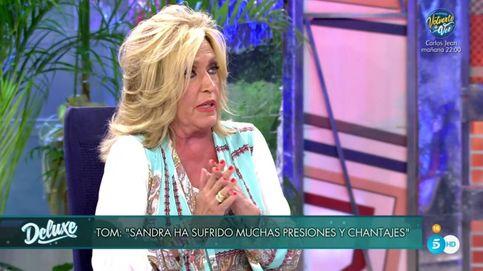 Lydia Lozano revienta el 'Deluxe' de Tom Brusse con esta teoría sobre Sandra Pica