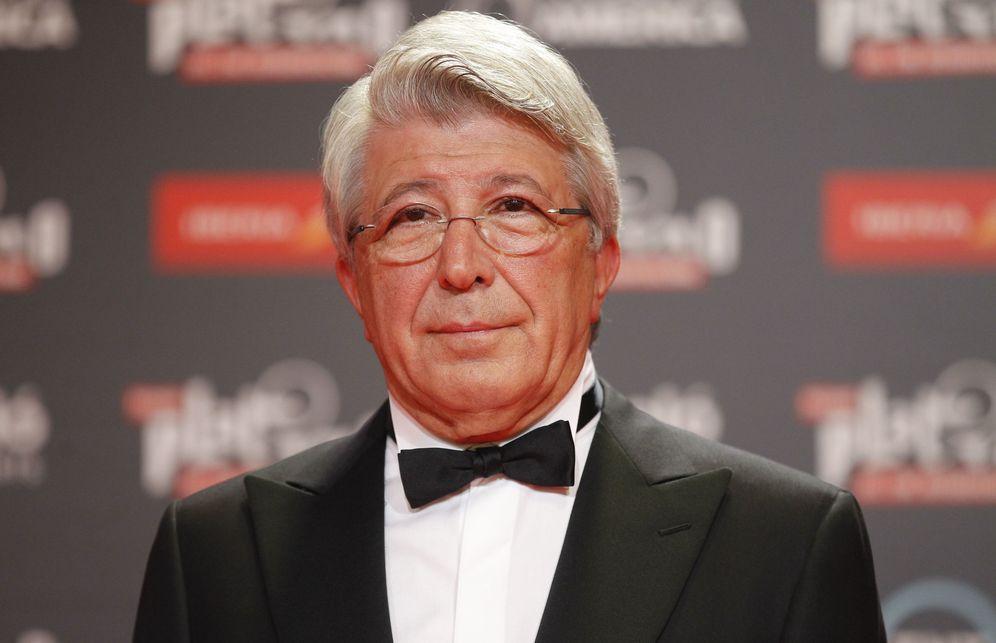 Foto: Enrique Cerezo en los Premios Platino (Efe)