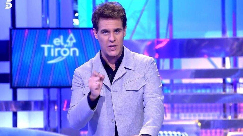 Christian Gálvez, en 'El tirón'. (Telecinco)