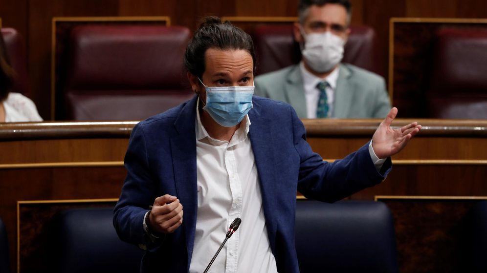 Foto: El líder de Unidas Podemos, Pablo Iglesias. (EFE)