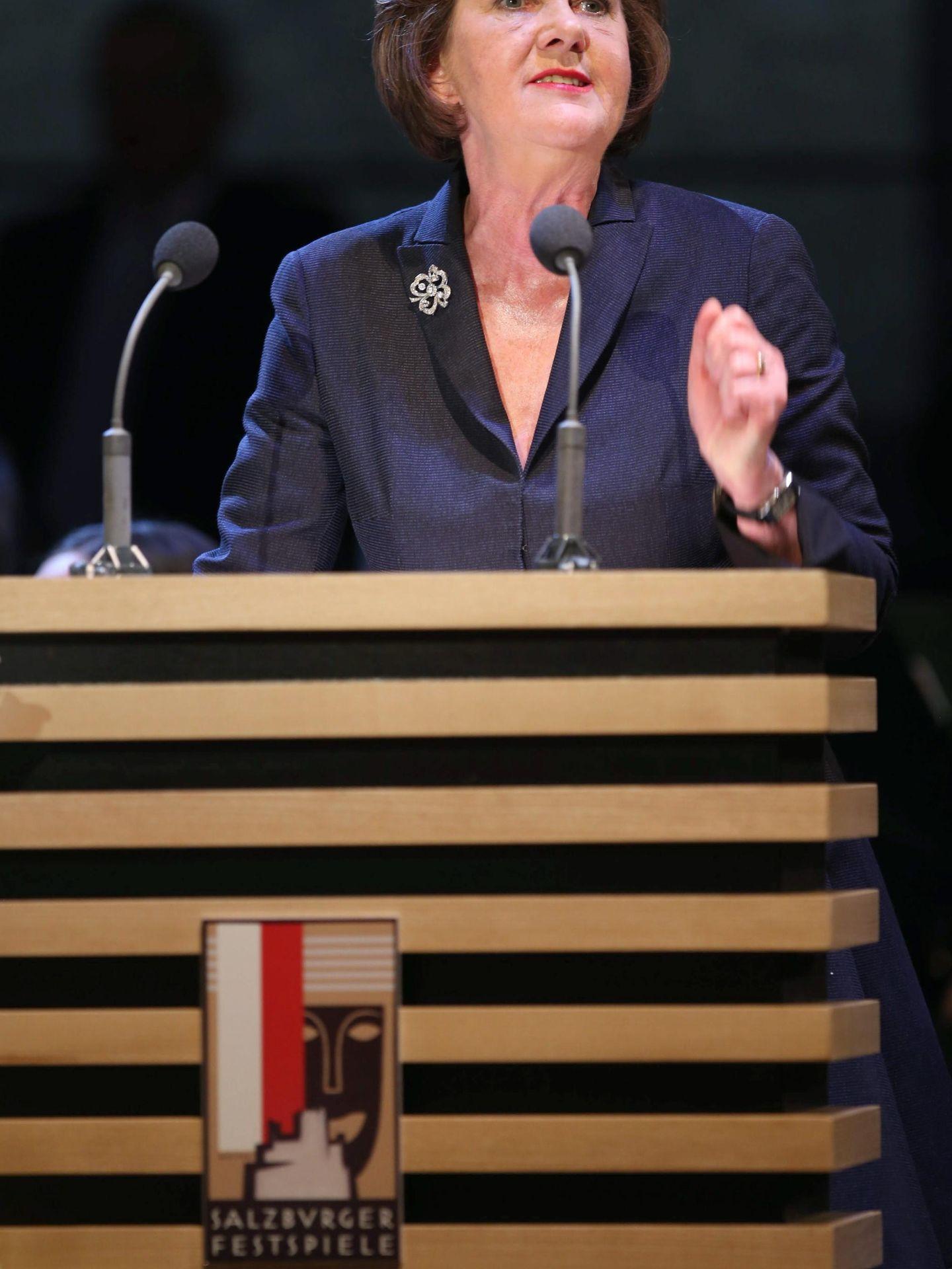Helga Rabl-Stadler, directora del festival de Salzburgo. (EFE)