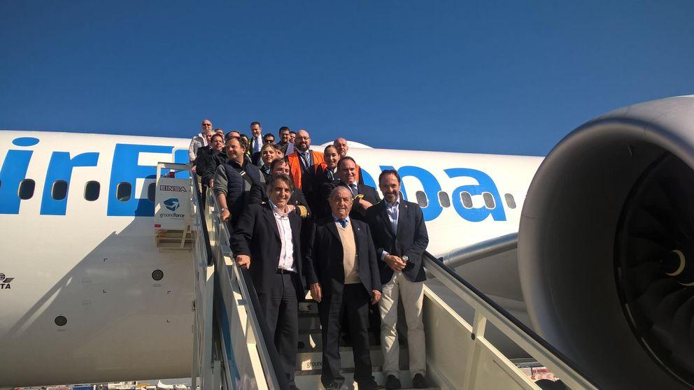 Llega a España el primer B-787 Dreamliner de Air Europa