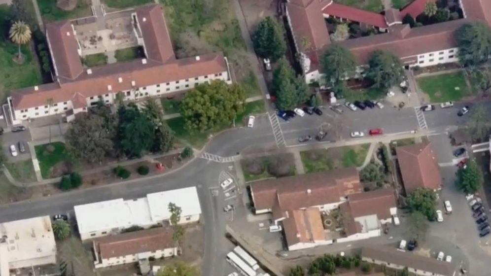 Foto: Residencia de veteranos en Yountville, California.(Captura de vídeo)