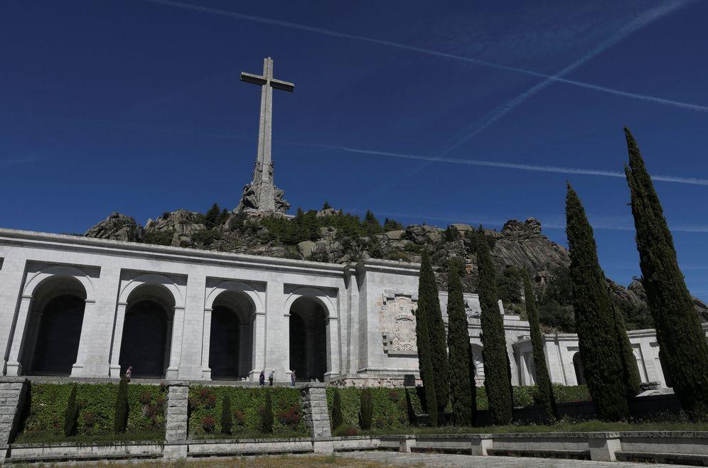 Foto: Basílica del Valle de los Caídos, en San Lorenzo de El Escorial, Madrid, el pasado 19 de junio. Allí reposan los restos de Franco. (Reuters)
