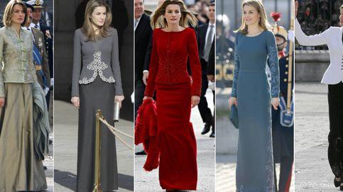 Ordenamos de peor a mejor los estilismos de Letizia en la Pascua Militar