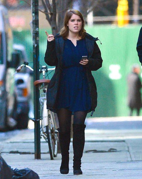Foto: La princesa, paseando por las calles de Nueva York (Gtres)