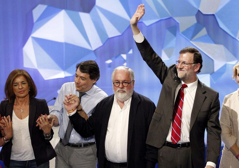 Foto: Último acto electoral del Partido Popular en Madrid (Efe)