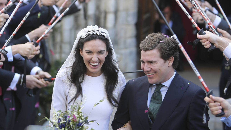Foto: Momento de la boda del sobrino de Esther Alcocer Koplowitz. (Clipper)