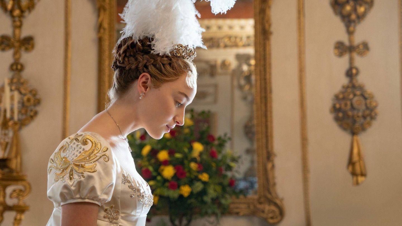 Phoebe Dynevor, como Daphne Bridgerton. (Netflix)