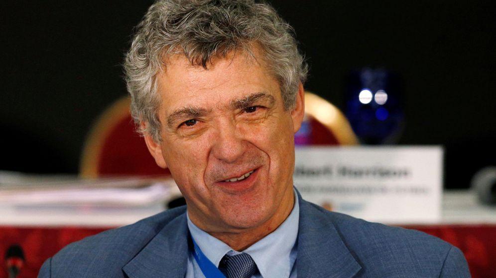 Foto: Villar, en un acto de la UEFA (Reuters).