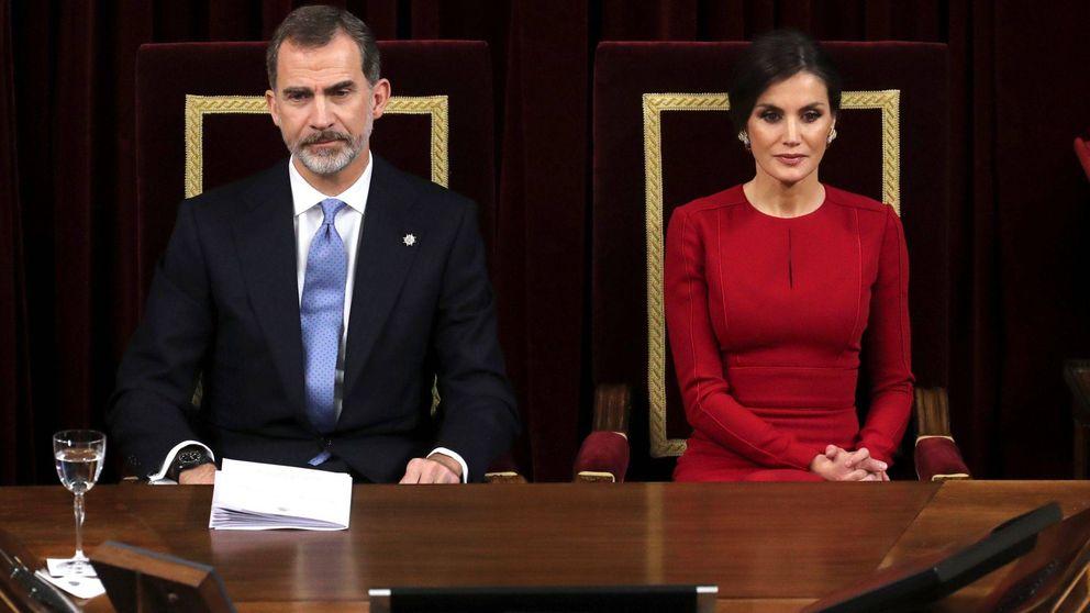 Felipe, Juan Carlos, Letizia y Sofía en el 40 aniversario de la Constitución, foto a foto