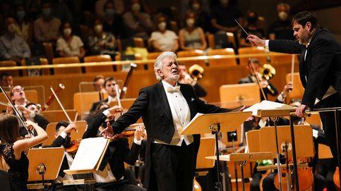 ¡Eres el más grande!. Vítores para Plácido Domingo en su vuelta a España tras dos años