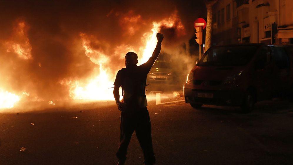 Foto: Disturbios en Barcelona tras la sentencia del 'procés'. (EFE)