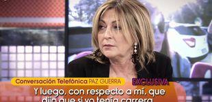 Post de Paz Guerra responde a la 'rajada' de Pantoja: