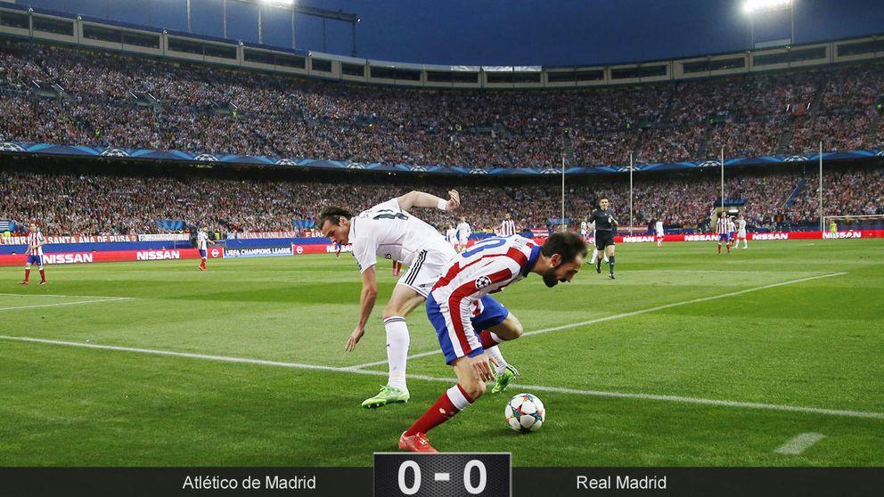 La falta de eficacia del Madrid deja con vida al Atlético en Champions