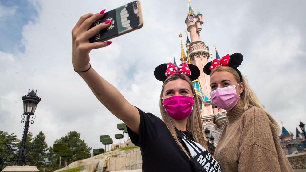 Foto: Official reopening of disneyland paris theme park