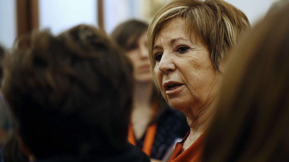 Foto: Celia Villalobos en el Congreso de los Diputados | EFE